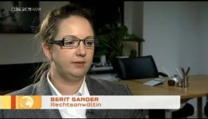 Berit Sander bei RTL Now
